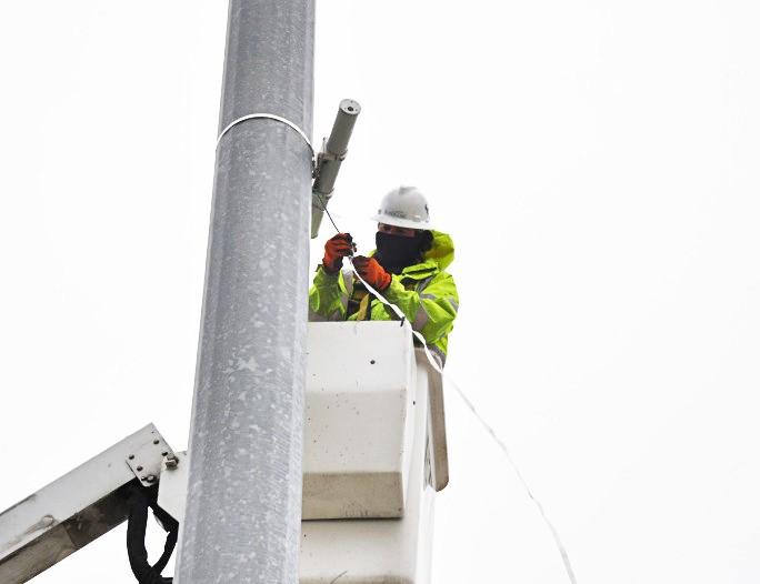 Управлять и просматривать данные с радара для определения дорожного трафика теперь можно при помощи мобильного приложения на телефоне.