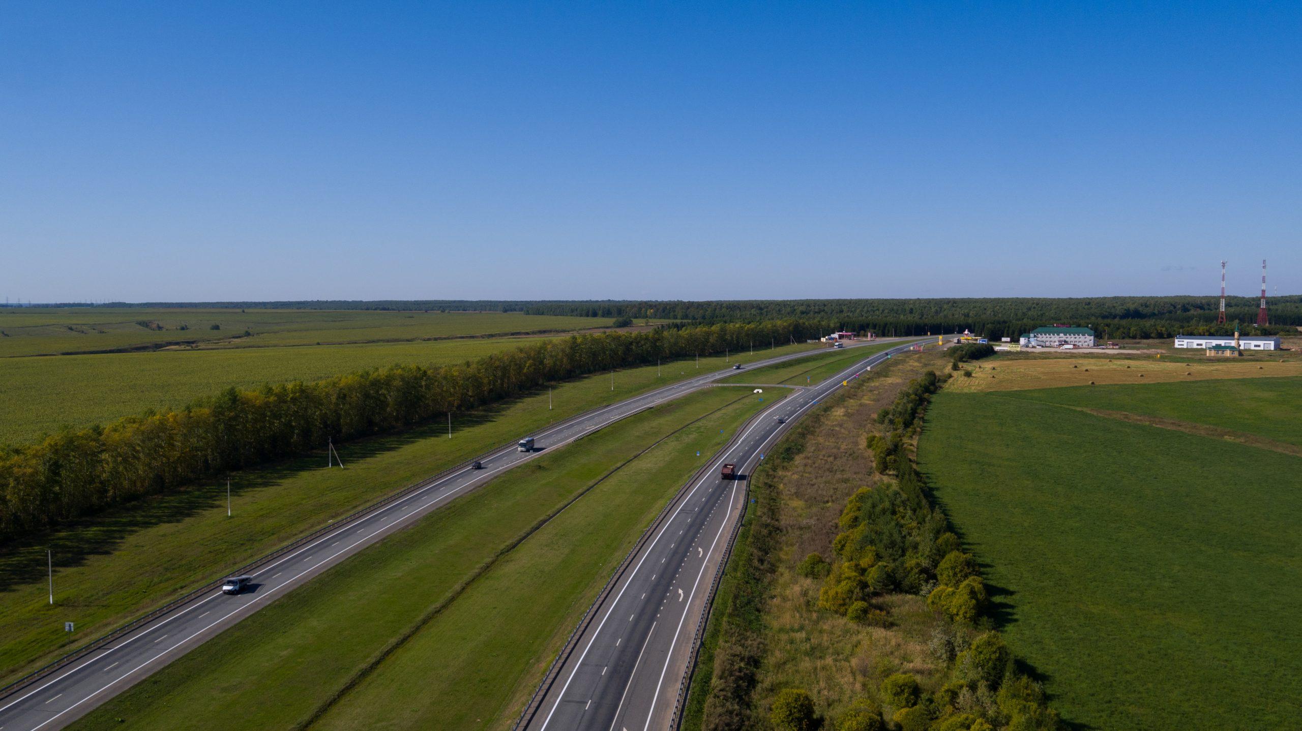 Делегация Росавтодора проинспектировала ход работ на федеральных трассах в Татарстане и Ульяновской области